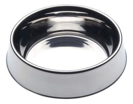 Одинарная миска для кошек и собак Ferplast, металл, серебристый, 0.2 л