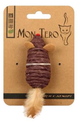 Мышь для кошек Мон Теро Эко, Перо, Бумага, 7.6 см