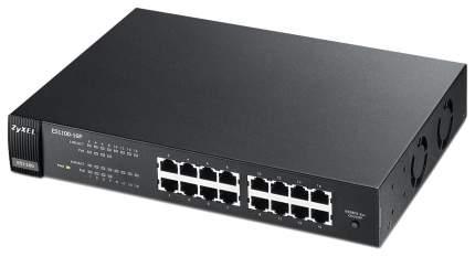 Коммутатор ZyXEL ES1100-16P Черный