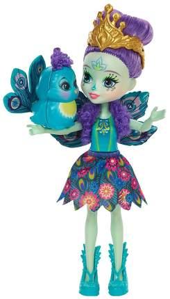 Коллекционная кукла Enchantimals Павлин Patter Peacock с питомцем