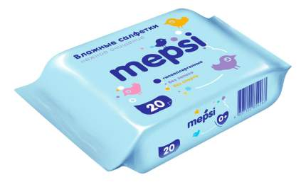 Детские влажные салфетки Mepsi 20 шт.