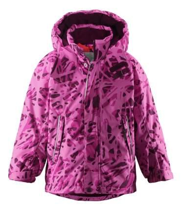Куртка Reima зимняя для девочки Reimatec Cup beetroot р.98