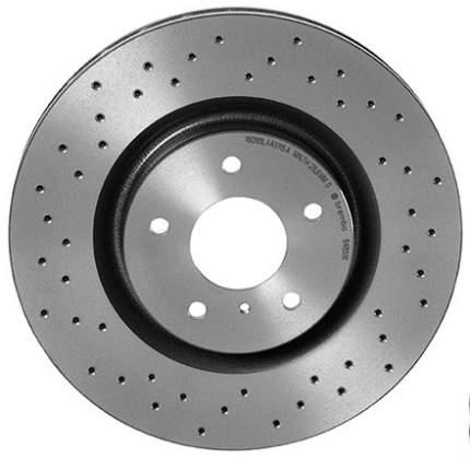 Тормозной диск brembo 09.9772.1X передний