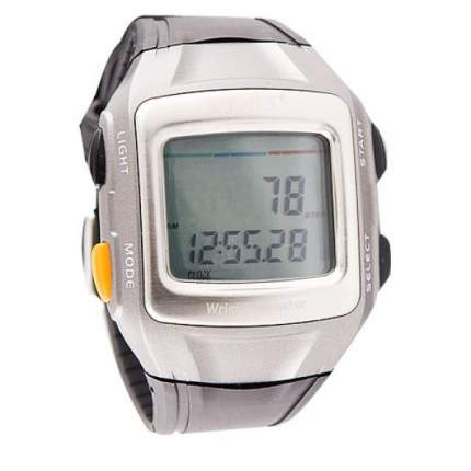Шагомер Torres SW-200 Wrist Pedometer серебристый