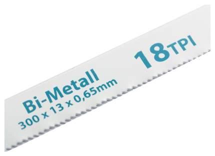 Полотна для ножовки по металлу GROSS 300 мм 18TPI BIM 2 шт 77730