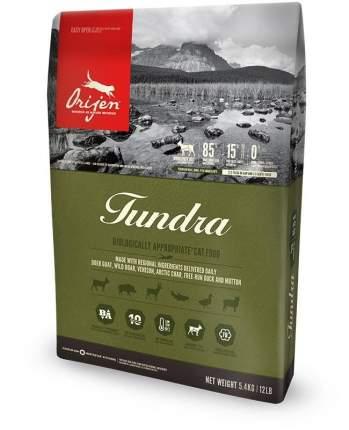 Сухой корм для кошек Orijen Tundra, дичь, 5,4кг