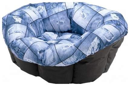 Лежанка для кошек и собак ferplast Sofa 39x52x21см голубой
