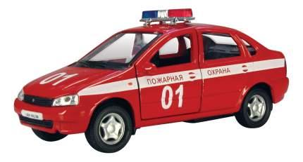 Коллекционная модель Lada kalina Пожарная охрана Autotime 11492 1:34