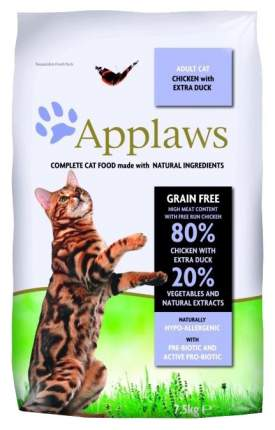 Сухой корм для кошек Applaws Senior Grain Free, для пожилых, курица, 2кг