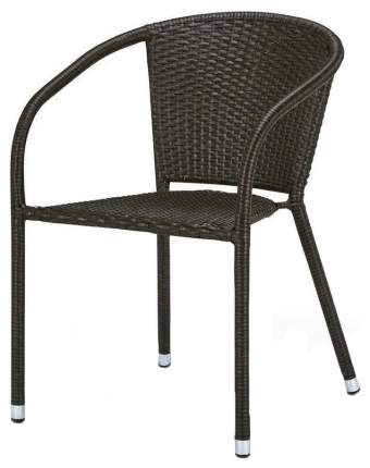 Кресло Afina Y137C-W53 Brown из искусственного ротанга