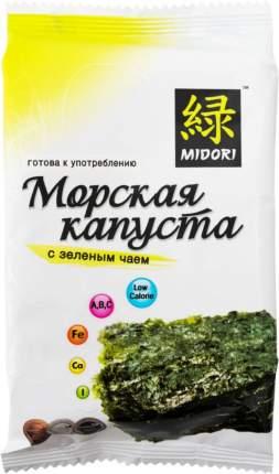 Морская капуста Midori с зеленым чаем 5 г