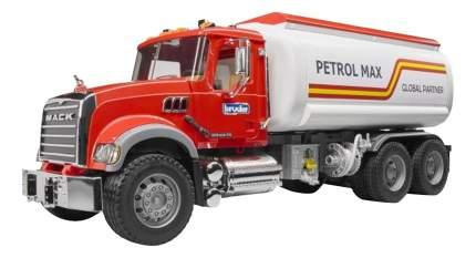 Бензовоз MACK красная кабина 1:16 Bruder 02-827