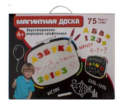 Доска для рисования Магнитная доска буквы, цифры, мелки, маркер Татой