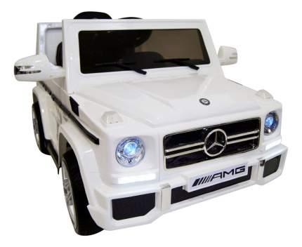 Электромобиль Mersedes-Bens G65 белый RIVERTOYS