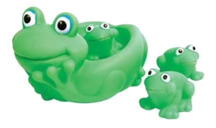 Набор игрушек для купания Ребятки-лягушатки Пома 2819