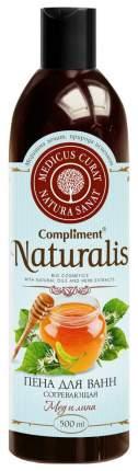 Пена для ванн Compliment Naturalis Мед и липа 500 мл