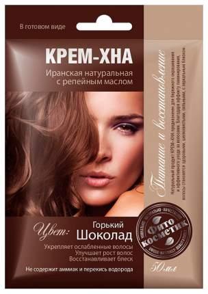 Краска для волос Фитокосметик Крем-хна Шоколад 50 мл