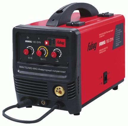 Сварочный полуавтомат_инвертор IRMIG 180 SYN (38642) + горелка FB 250_3 м (38443)