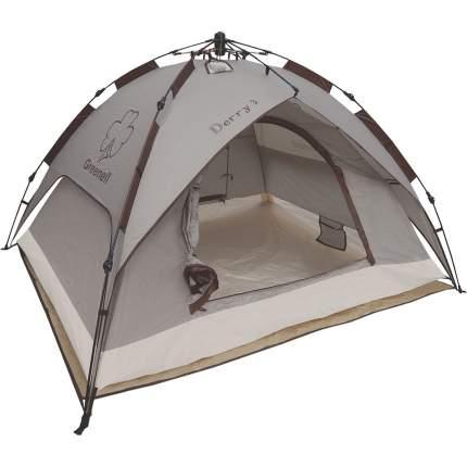 Палатка Greenell Дерри трехместная коричневая