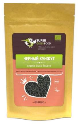 Черный кунжут Super Green Food 150 г