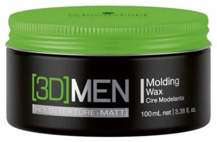 Воск для укладки Schwarzkopf Professional [3D] MEN Molding Wax 100 мл