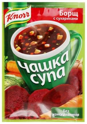 Борщ Knorr чашка супа с сухариками 14.8 г