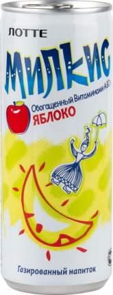 Напиток газированный Милкис яблоко жестяная банка 250 мл
