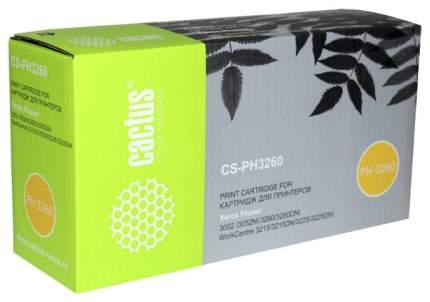 Картридж для лазерного принтера Cactus CS-PH3260 Черный