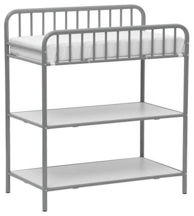 Столик для пеленания Polini Kids Vintagе 1180 металлический, Серебро