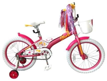 Велосипед двухколесный Stark Tanuki 18 Girl 2019 Розовый/Белый