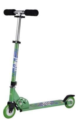 Самокат двухколёсный X-Match City Line 100 мм Зеленый 641093