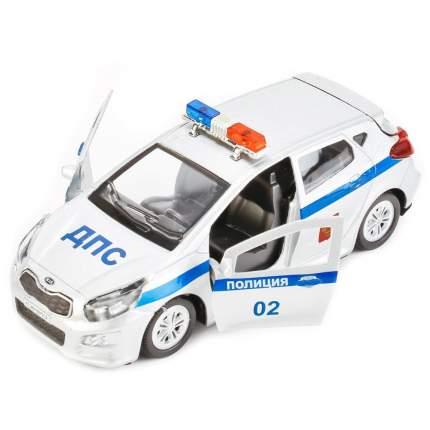 Машинка Технопарк металлическая инерционная kia ceed Полиция 12 см