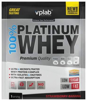 Протеин VPLab 100% Platinum Whey 30 г Strawberry-Banana