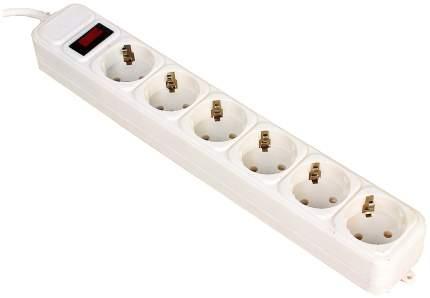 Сетевой фильтр 3Cott 3C-SP1006W-1.8 белый
