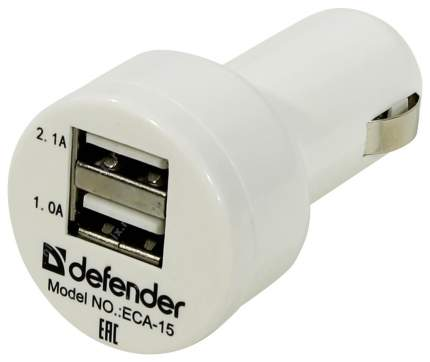 Автомобильное зарядное устройство Defender 83561