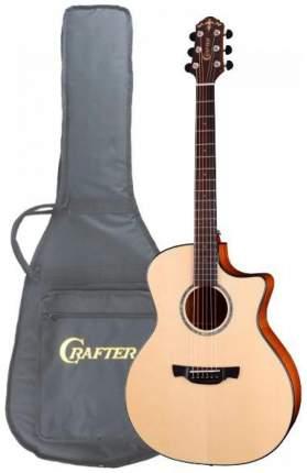 Электроакустическая гитара шестиструнная CRAFTER GXE-600 ABLE Чехол