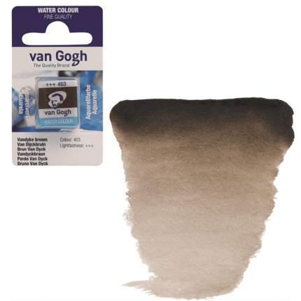 Акварельная краска Royal Talens Van Gogh №403 ван дейк коричневый 10 мл