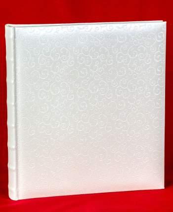 """Свадебный магнитный фотоальбом """"Однотонный с орнаментом"""" на 60 страниц 29х32 см"""