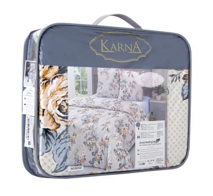 Постельное белье Karna Linden (2 спальное евро)