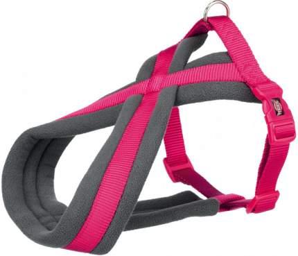 Шлейка для собак TRIXIE Premium Touring, фуксия, M, 45-70 см, 25 мм