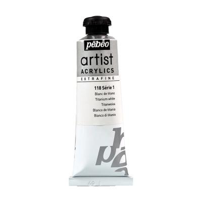 Акриловая краска Pebeo Artist Acrylics extra fine №1 белила титановые 37 мл