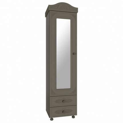 Платяной шкаф Компасс-мебель Ассоль плюс АС-01 KOM_AC01_6_plus 53,2x41,6x206, грей