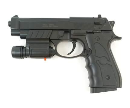 Страйкбольный пружинный пистолет Galaxy (кал. 6 мм) G.052BL (Beretta 92) пластик с ЛЦУ