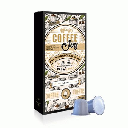 Кофе в капсулах Coffee Joy классический кофе светлой обжарки