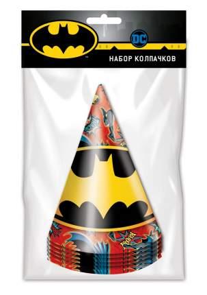 Набор праздничных колпачков ND Play Batman, 6 шт