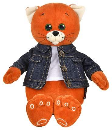 Мягкая игрушка животное Колбаскин&Мышель Колбаскин в джинсовой куртке 20см