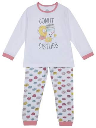 Пижама детская Chicco, цв. розовый р.128