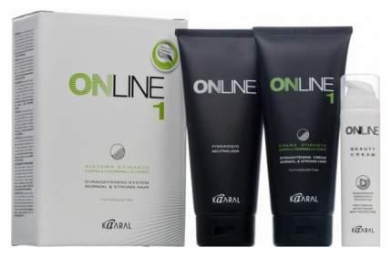 Средство для укладки волос KAARAL Online hair straightening system 1 450 мл