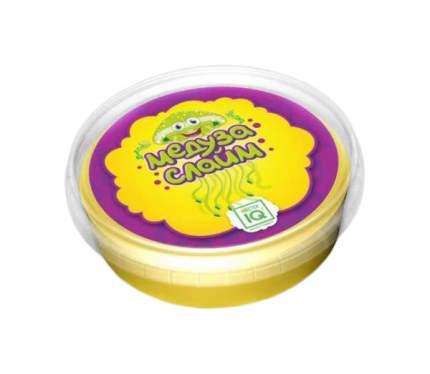 Медуза слайм готовый жёлтый