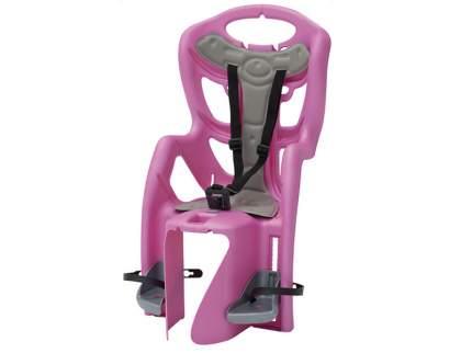 Детское велокресло заднее Bellelli Pepe Standardt Multifix розовое
